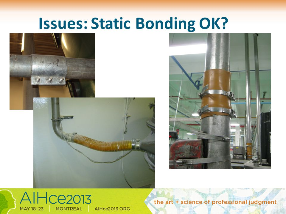 Issues: Static Bonding OK