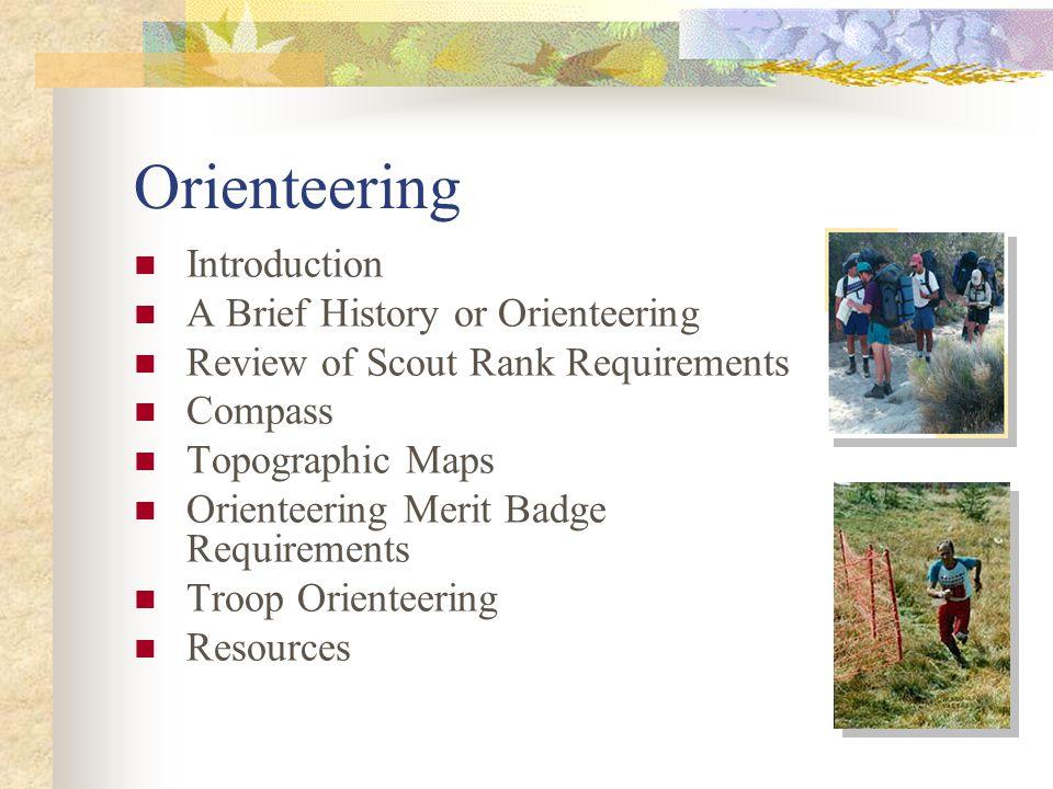 What is Orienteering.
