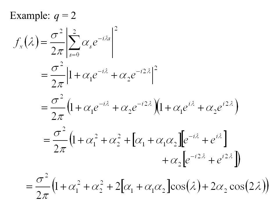 Example: q = 2