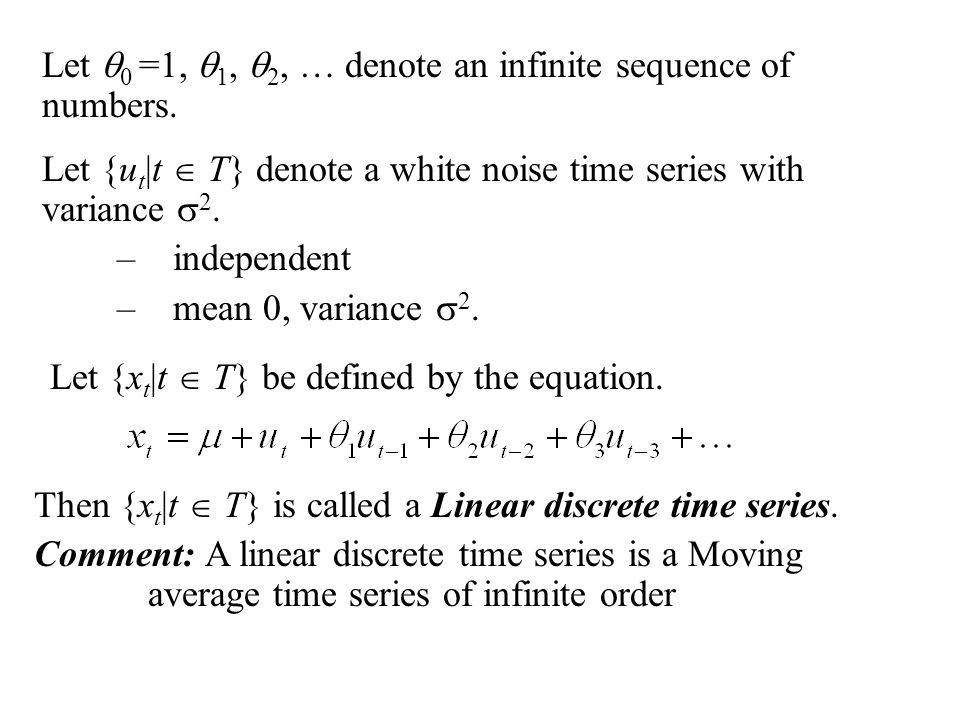 Let  0 =1,  1,  2, … denote an infinite sequence of numbers.