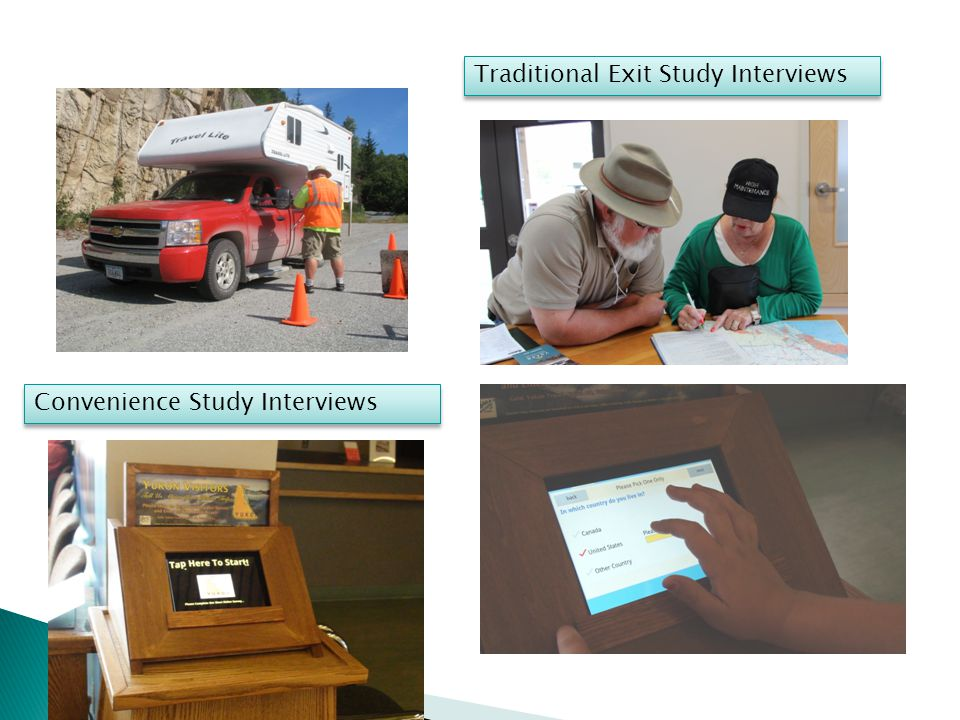 Traditional Exit Study Interviews Convenience Study Interviews