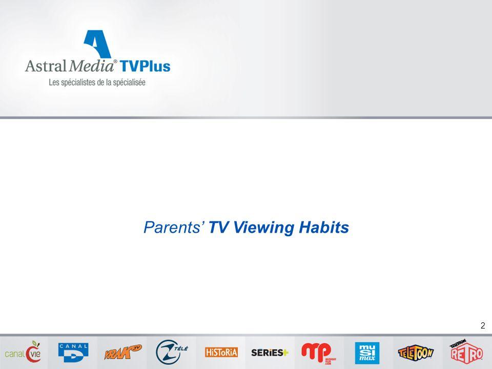 Parents' TV Viewing Habits 2