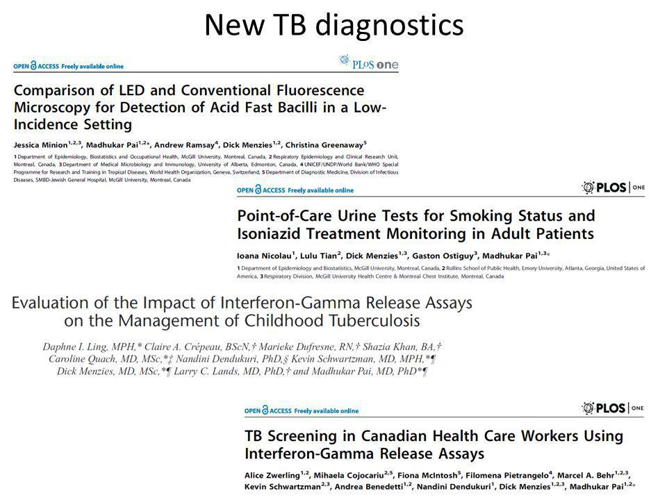 New TB diagnostics