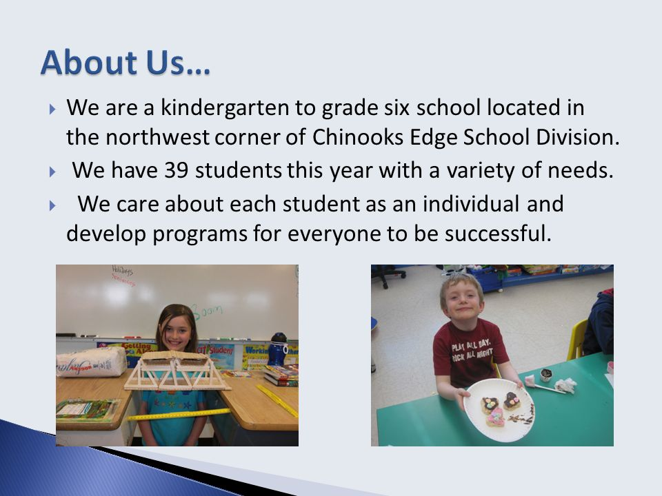 School Goal #2 To use a collaborative process to increase educational learning in our students and staff.
