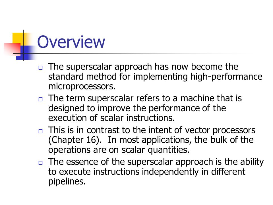 Branch Prediction  Thus, some superscalar machines have turned to pre-RISC techniques of branch prediction.