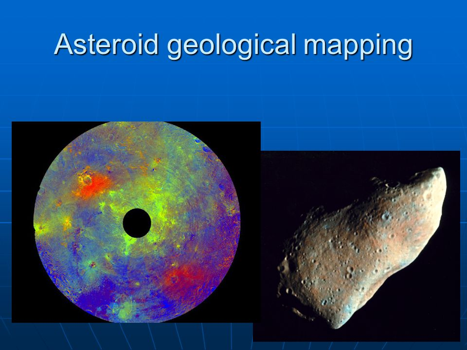 Asteroid geological mapping