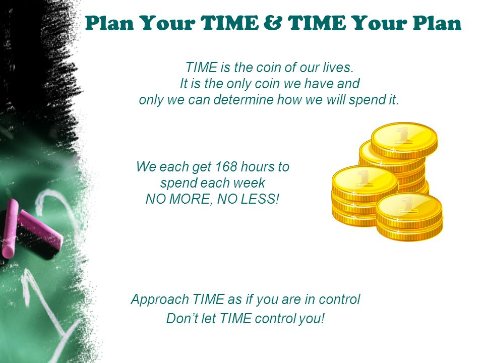 Time Management Recap Plan Your Time and Time Your Plan 7-Day Anti Procrastination Plan Use a Planner Be Here NOW Organize YOUR Time LIFE MATTERS.