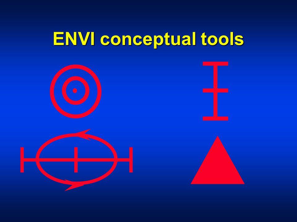 ENVI conceptual tools