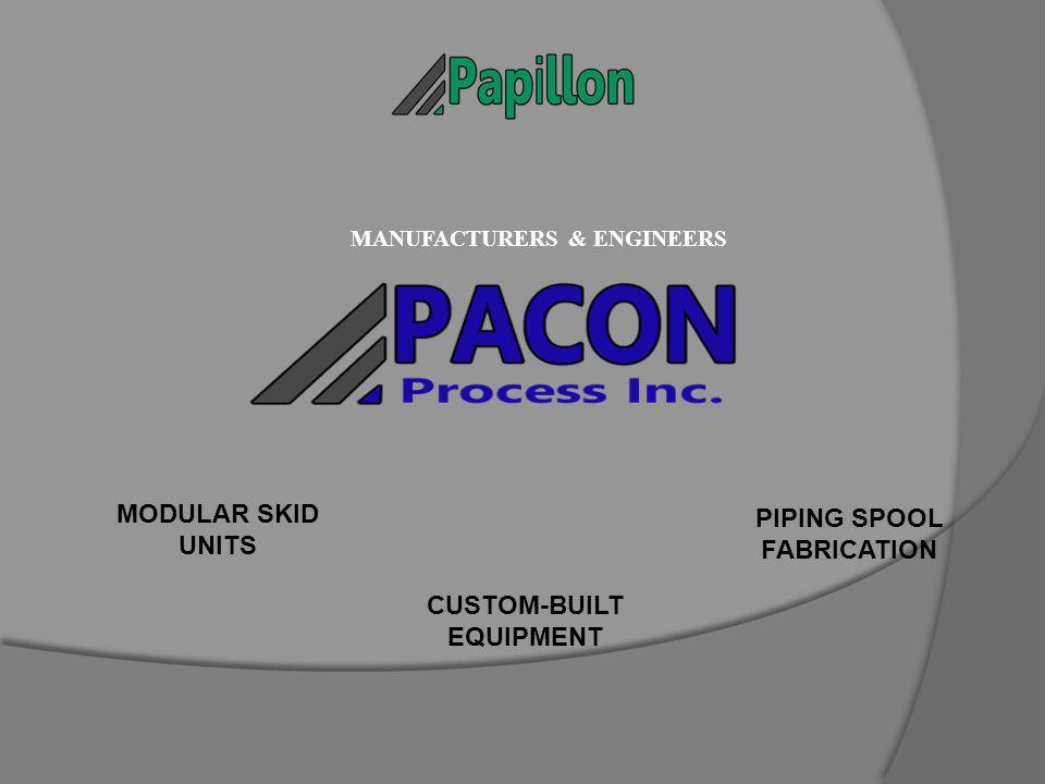 PIPING SPOOL FABRICATION MODULAR SKID UNITS CUSTOM-BUILT EQUIPMENT MANUFACTURERS & ENGINEERS