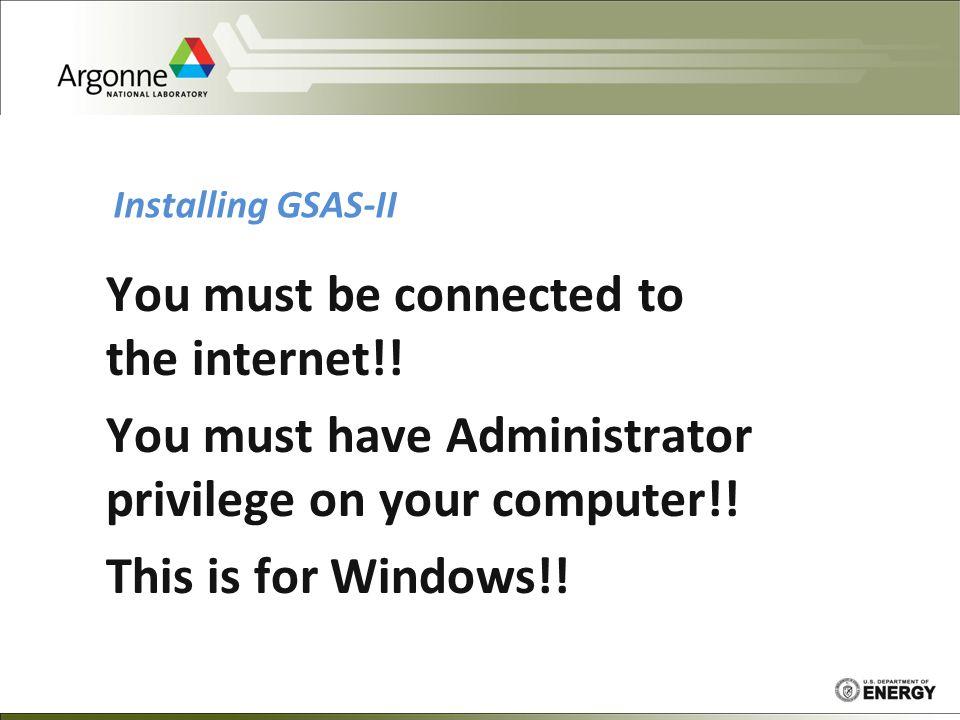 Finding GSAS-II – Google it.