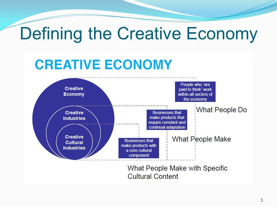 Defining the Creative Economy 5