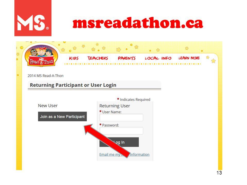 13 msreadathon.ca