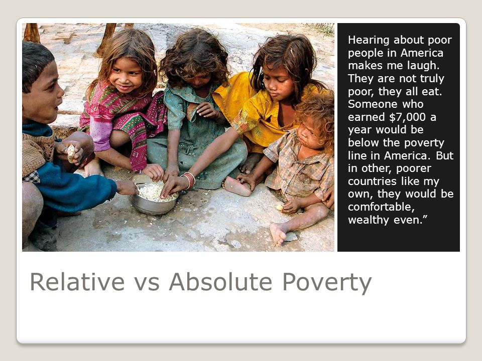 How is Poverty Measured.