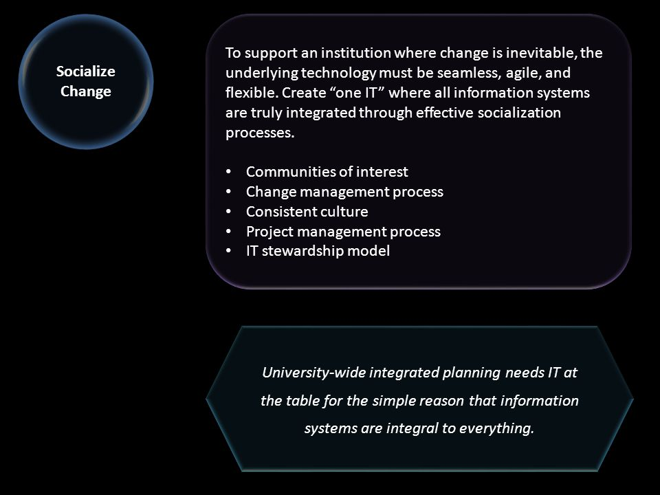 To support an institution where change is inevitable, the underlying technology must be seamless, agile, and flexible.
