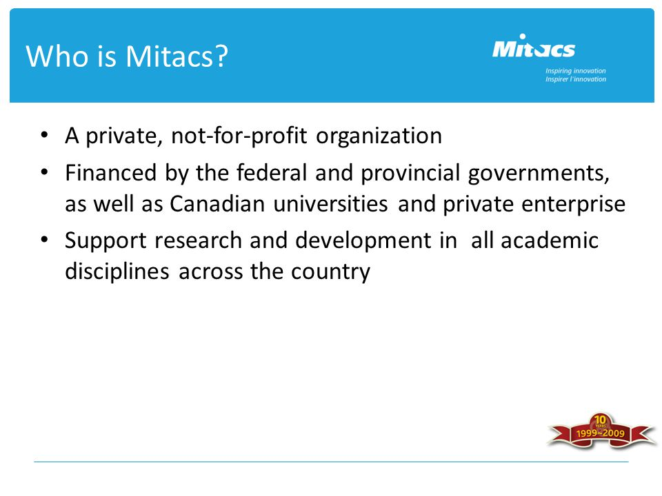 Who is Mitacs.