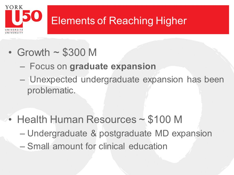 Elements of Reaching Higher Access ~ $30 M across several areas – Northern Grants – Bilingual Grants – First Generation – Students with Disabilities