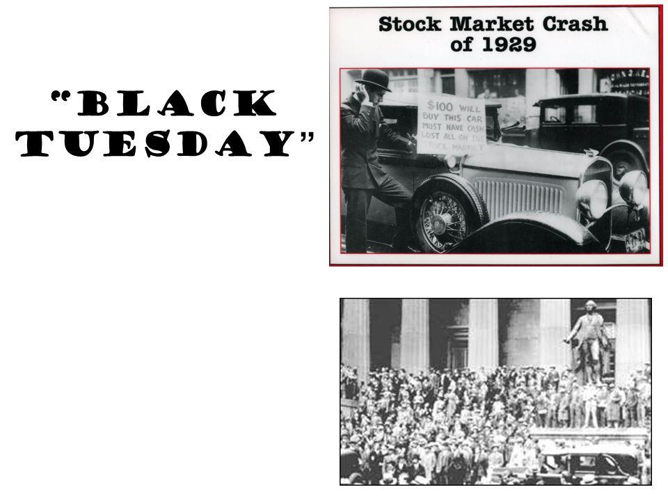 """Black Tuesday """