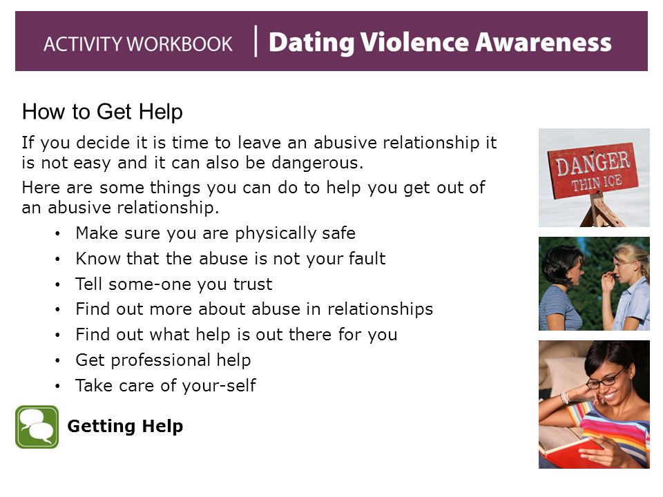 If you decide it is time to leave an abusive relationship it is not easy and it can also be dangerous.