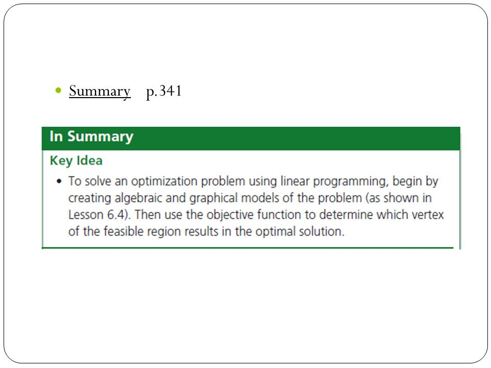 Summary p.341