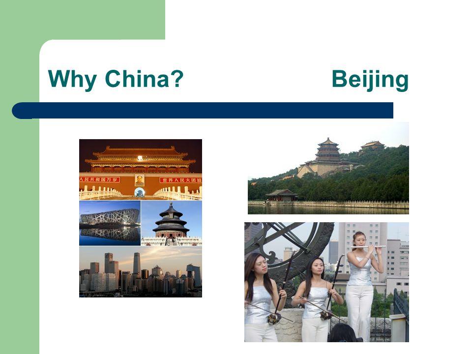 Why China Beijing
