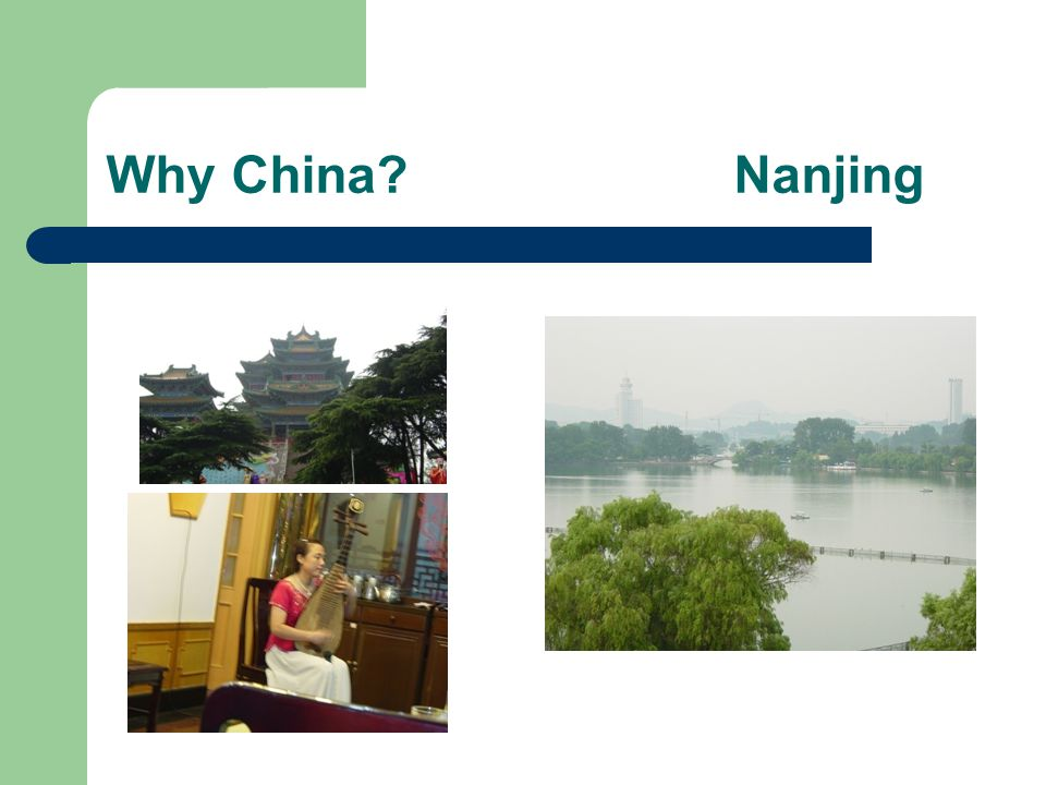 Why China Nanjing