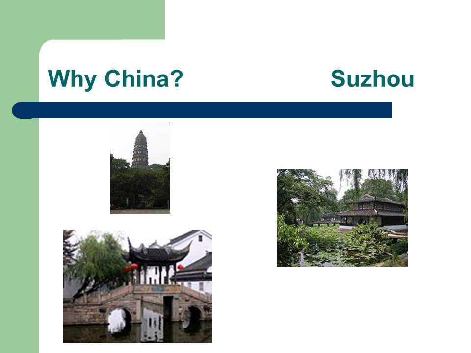 Why China Suzhou