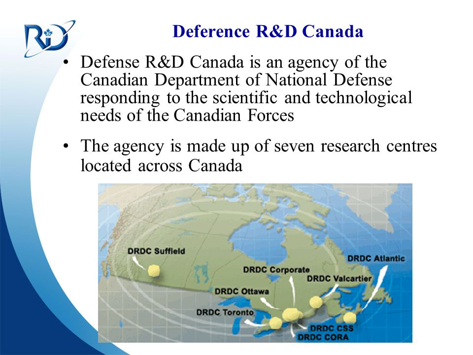Defence R&D Canada – Ottawa R & D pour la défense Canada – Ottawa RFID Physical Elements Logic Bonding PadsRF Front EndMemory Reference [3]