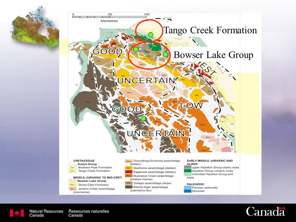 Tango Creek Formation Bowser Lake Group
