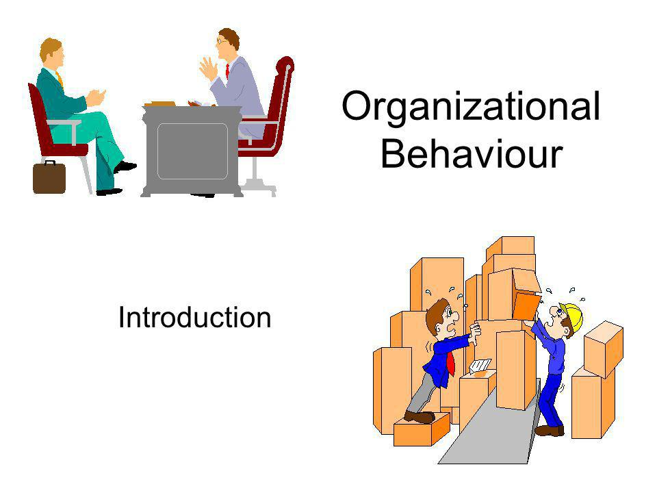 Organizational Behaviour Introduction