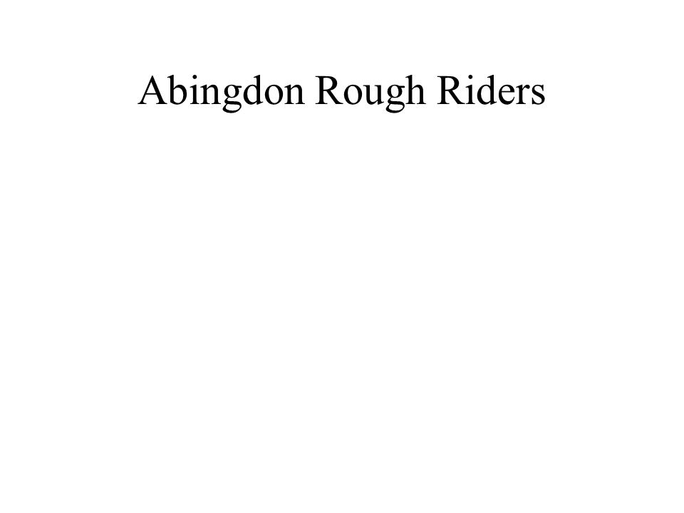 Abingdon Rough Riders