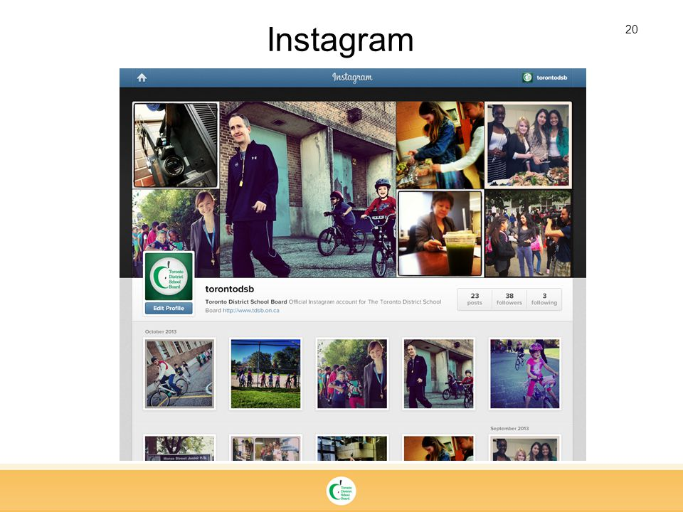 20 Instagram