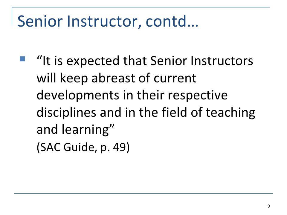 The Criteria 60 The Professoriate Stream Service TeachingResearch