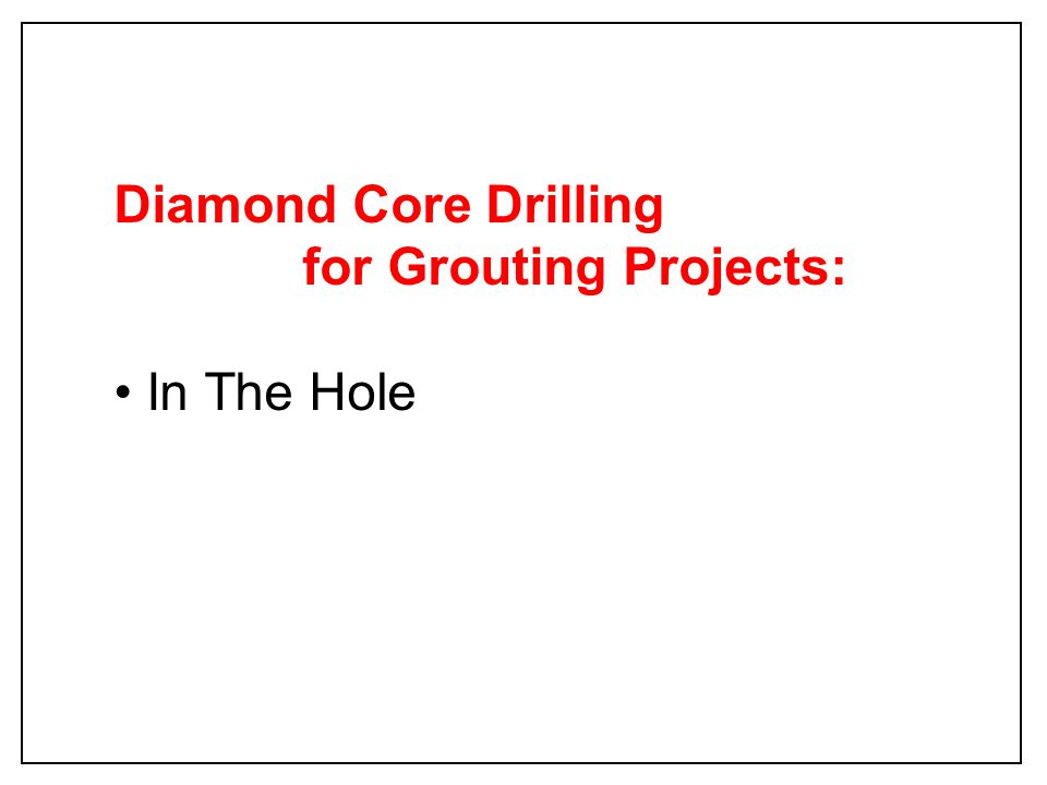 Vent Raise at Surface 380 360 340 320 62006220 6240 6260 6280 Hole # 1 Hole # 2 6180 400 Goldcorp Vent Raise Grouting 2006 Drill Hole Locations P White April 11, 2006 Red solid lines indicate surveyed hole trajectory from surface to approximately 400 ft Tan Tag - Tight Hole - zero or low grout consumption Yellow Tag - grout consumption in between tan & green holes Green Tag - Open Hole - high grout consumption Blue Circle Numbers indicate grouting sequence Hole # 4 Hole # 3 25 ft 16 ft 26 ft 16 ft Hole # 6 Hole # 7 Hole # 5 80 ft Circle 20 ft 24 ft 16 ft #1 #2 #3 #4 #5 #6 #7 Hole # 11 #8 Hole # 10 Hole # 9 Hole # 8 Hole # 12 #9 #10 #11 #12 13 ft 16 ft 20 ft