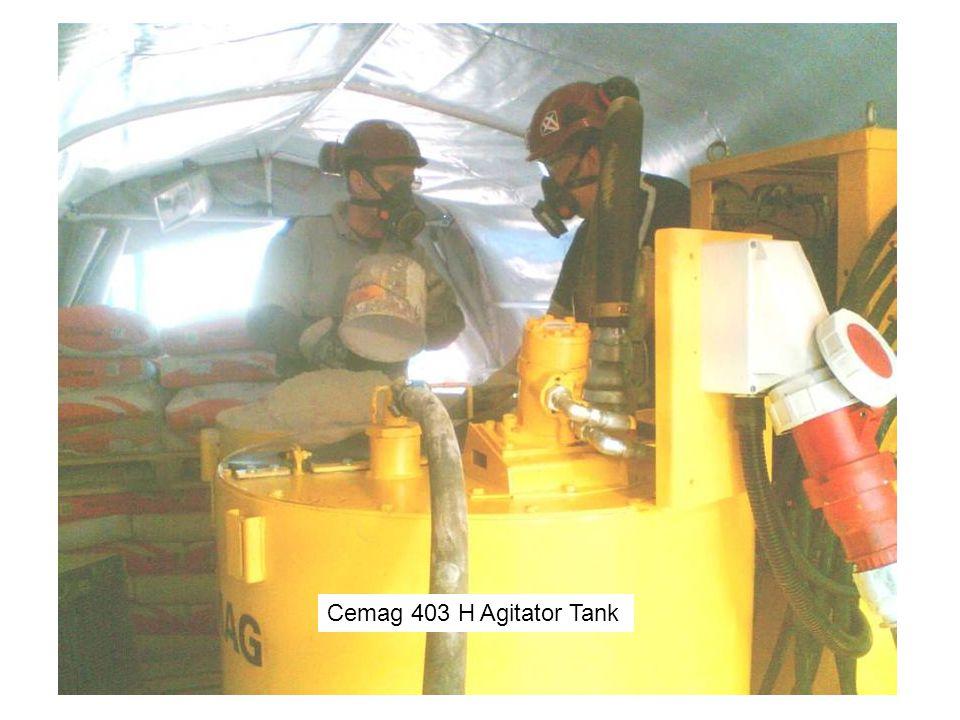 Cemag 403 H Agitator Tank