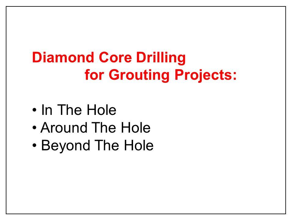 Hsuehshan Tunnel Taiwan Exploration Drillhole In Blocky Ground