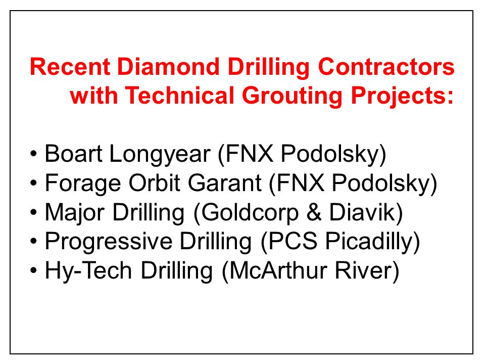 400 ft Water-Bearing Fracture Overburden Diamond Drill Inflatable Packer + Internal Valve HQ Drill Rods + Safety Cable