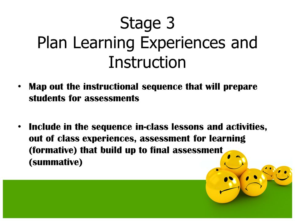 Where Approach W – students know where they are going, why they are heading there, what they know, where they might go wrong in the process, what is required of them.