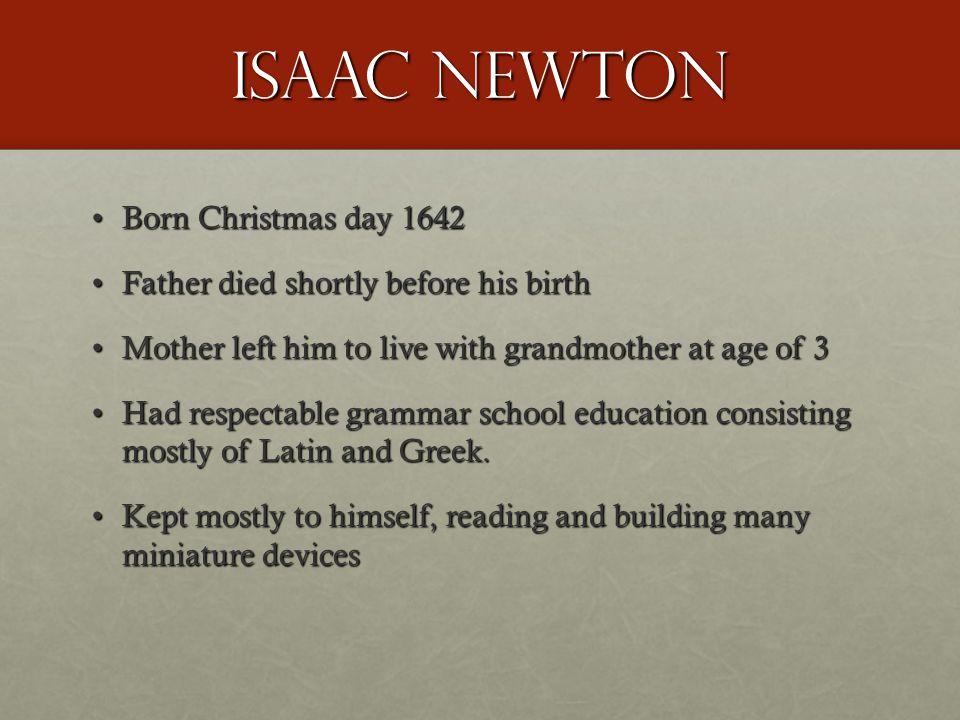 Newton's Inventions +