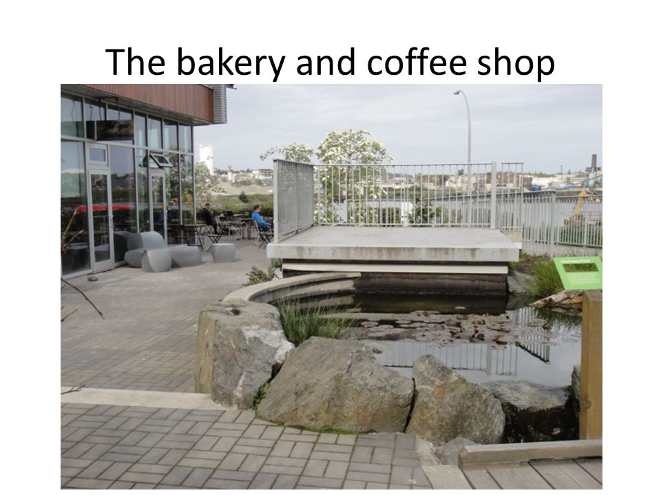 The bakery and coffee shop