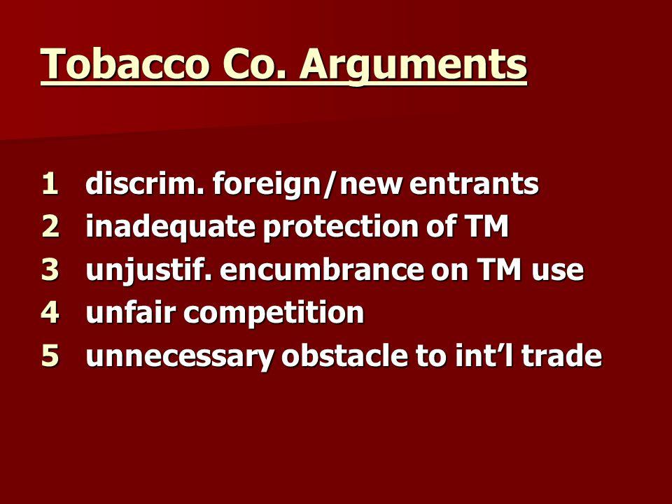 Tobacco Co.