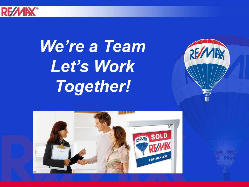 We're a Team Let's Work Together!