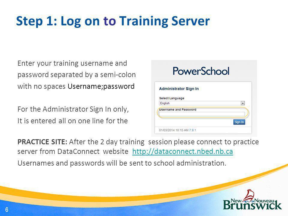 PowerSchool Start Page 7