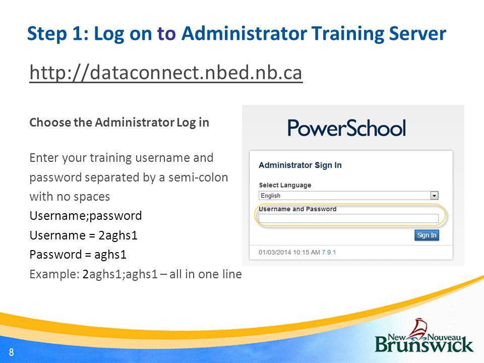 PowerSchool Start Page 9