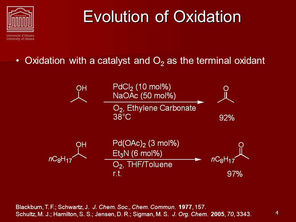 5 Towards Oxidases Activity Ideal cases of enantioselective oxidation with a catalyst and O 2 as the terminal oxidant