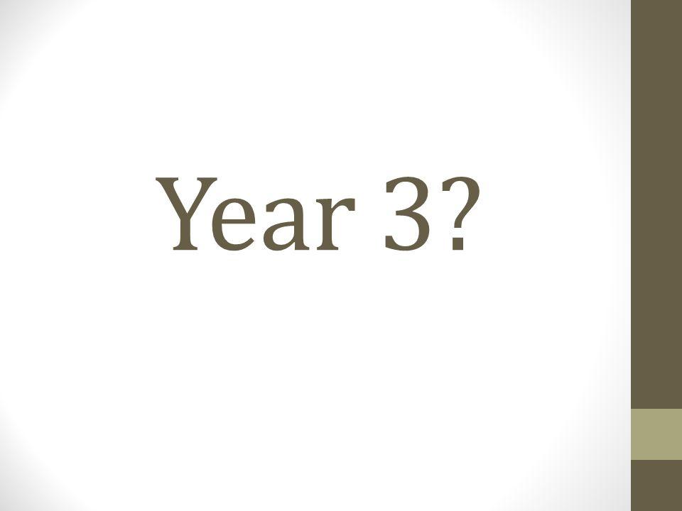 Year 3?