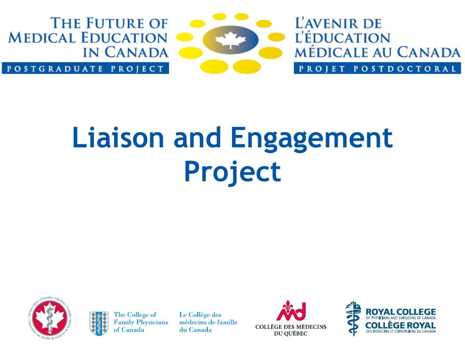 Liaison and Engagement Project