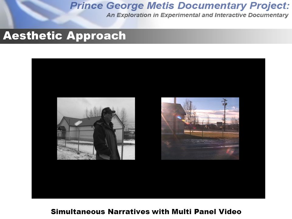 Simultaneous Narratives with Multi Panel Video Aesthetic Approach
