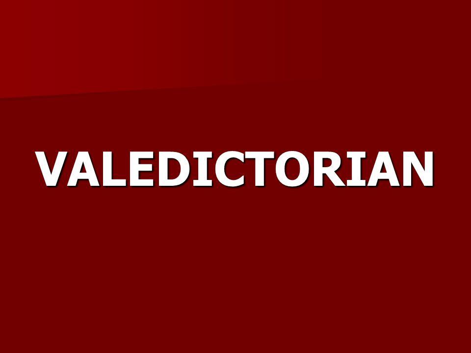 VALEDICTORIAN