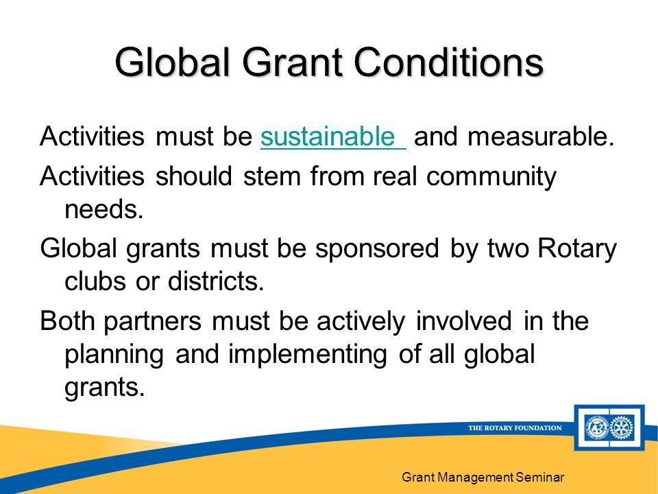 Grant Management Seminar 28 Implementation Communication Financial management plan Recordkeeping Following original plan