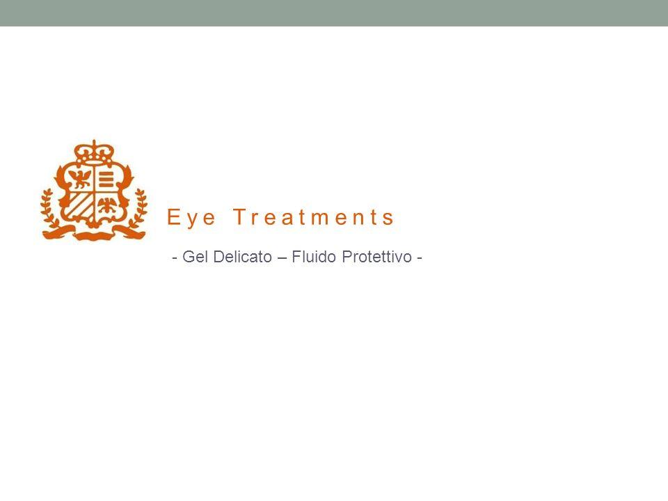 - Gel Delicato – Fluido Protettivo - Eye Treatments